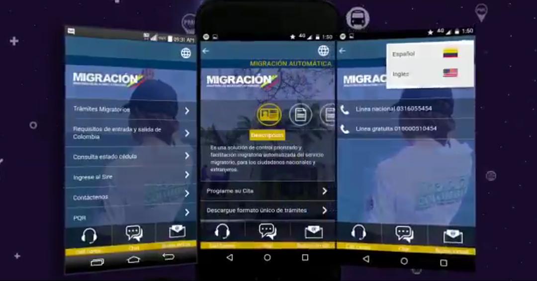 Migración Colombia habilita web para que venezolanos tramiten permiso de movilización