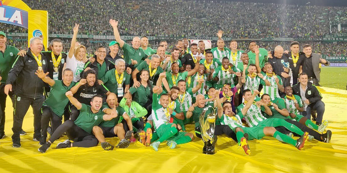 Nacional derrota 2-1 a Once Caldas y se corona campeón de la Copa Colombia