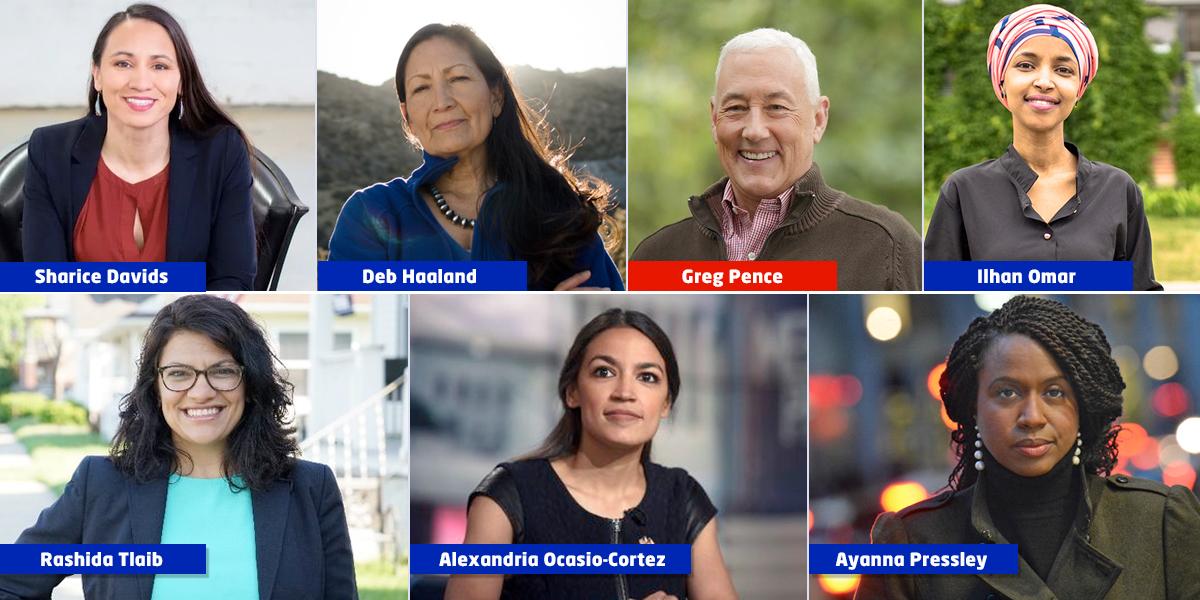 Los nuevos rostros del Congreso de Estados Unidos