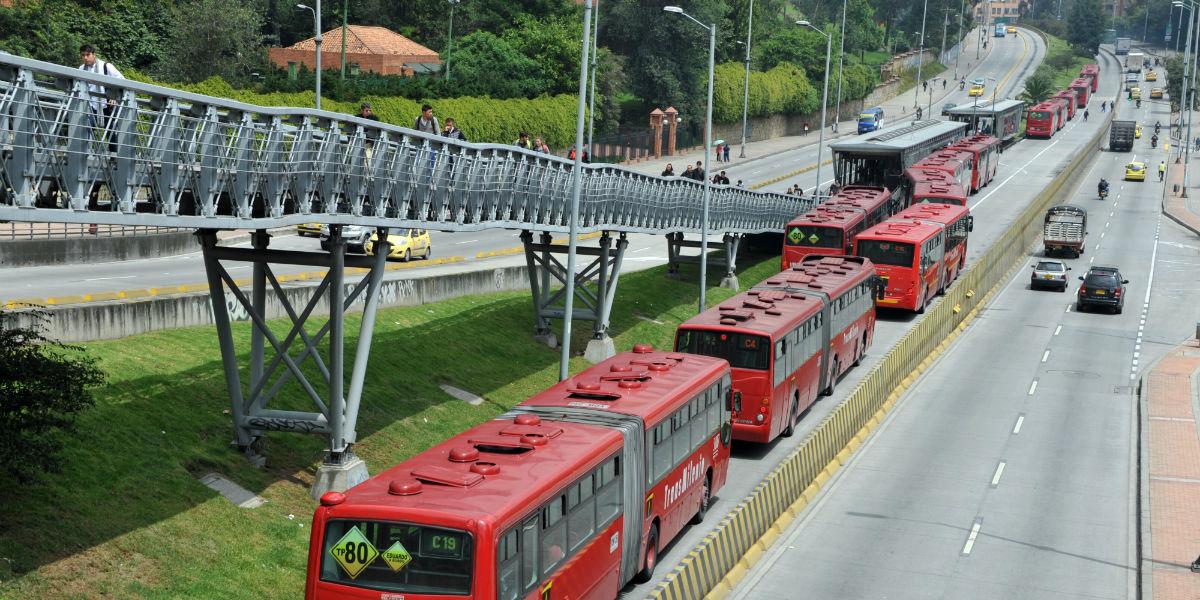 transmilenio bogota transporte publica rutas estaciones afp