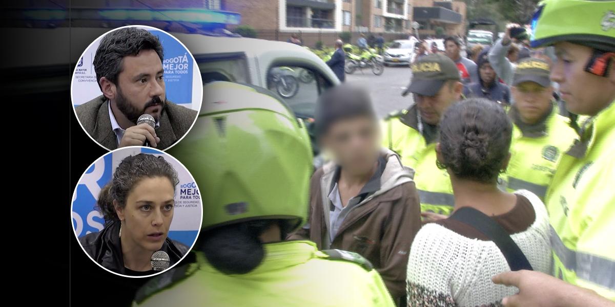 Van cuatro venezolanos judicializados por saqueos en refugio de Engativá