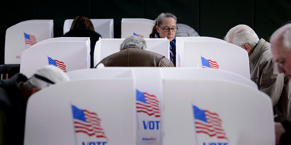 Este es el dispositivo de seguridad contra el fraude electoral en EE.UU.