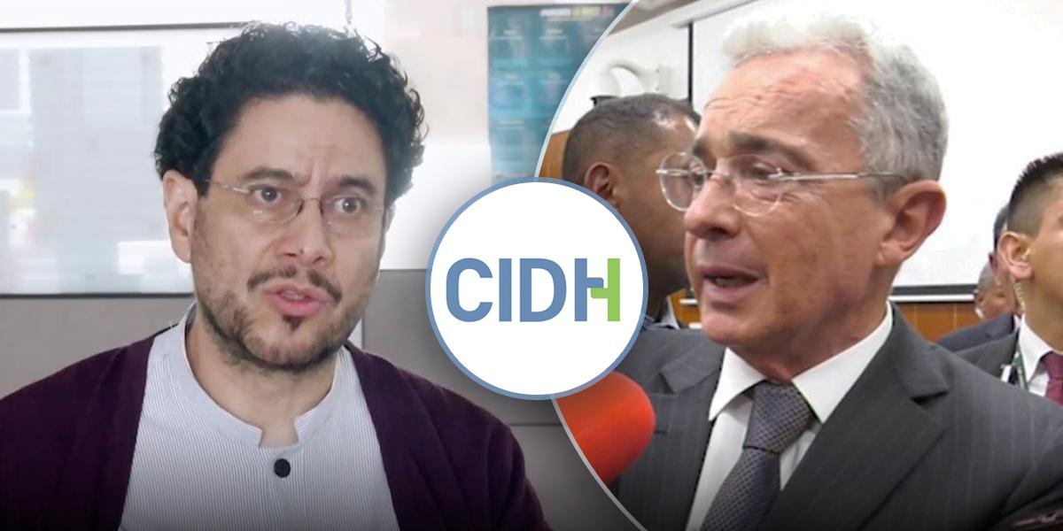 Iván Cepeda pide a CIDH que siga caso Uribe por presunta manipulación de testigos