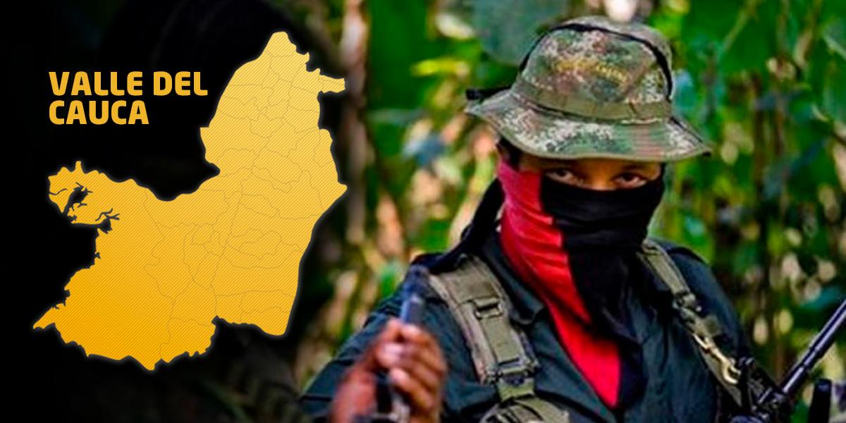 Alerta en el Valle por amenaza del EPL de celebrar un año de haber llegado a la región