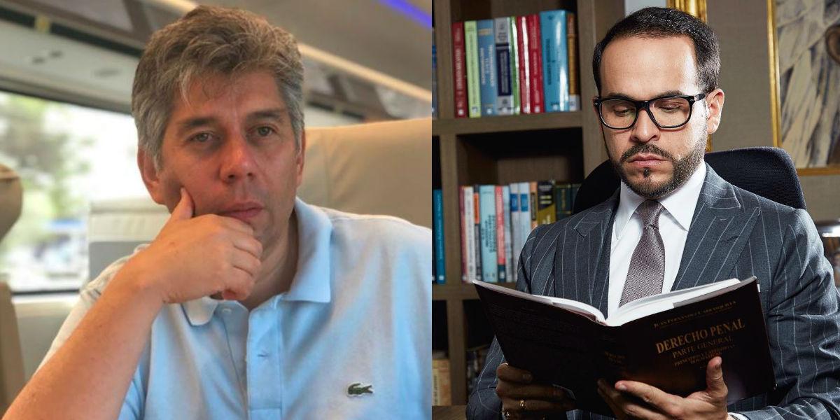 """Daniel Coronell le dice a Abelardo de la Espriella que su """"diploma"""" es comprado por internet"""