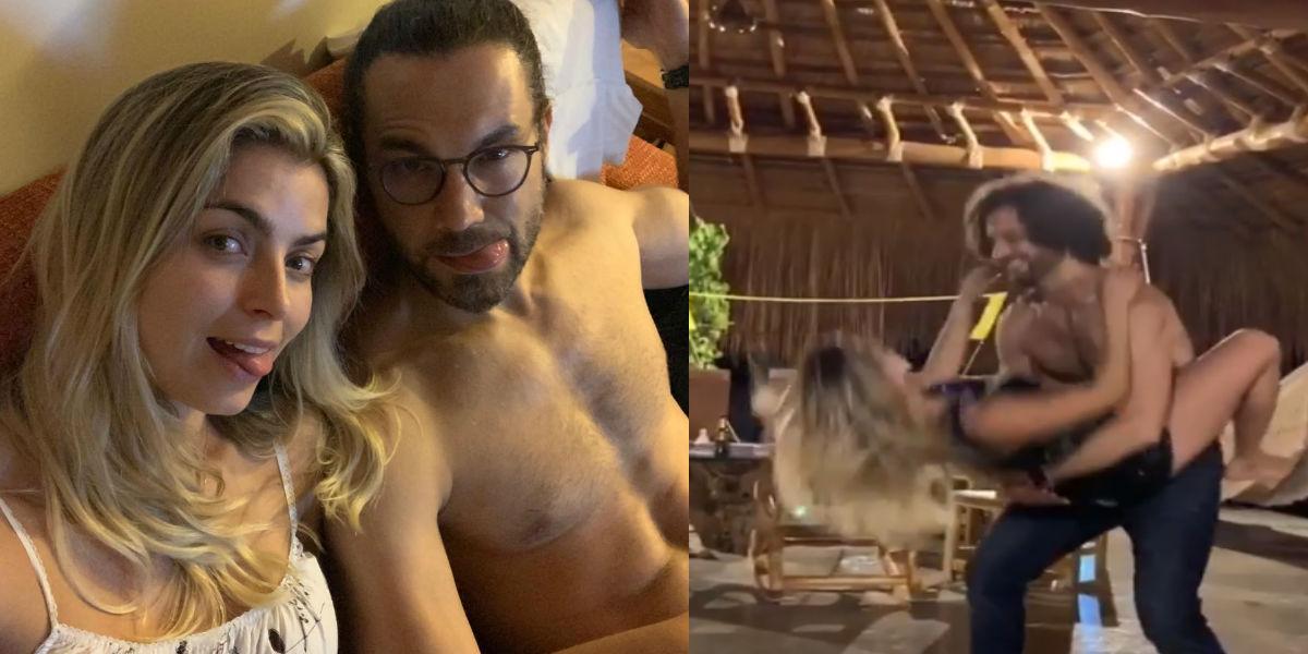 El sensual baile de Cristina Hurtado y Josse Narváez en sus románticas vacaciones