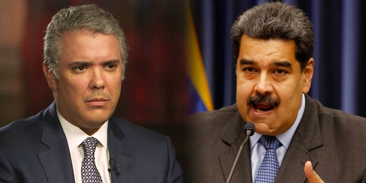 """""""Por tu inmadurez, no estás preparado para ser presidente de Colombia"""": Maduro a Iván Duque"""