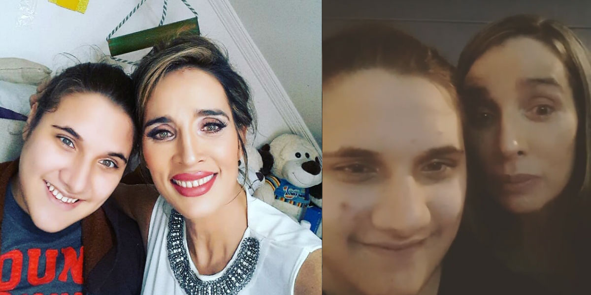 El inspirador video del hijo Luly Bossa que hizo muy feliz a la actriz