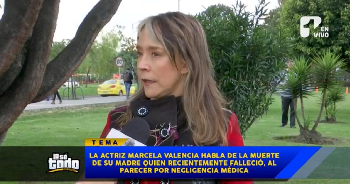 ¿Negligencia? Mamá de actriz murió tras una lucha constante con la EPS
