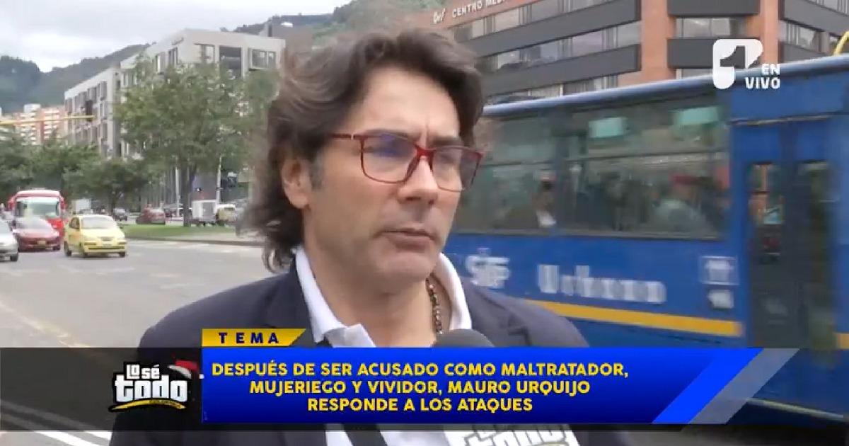 Mauro Urquijo reaparece tras ser acusado de maltratador, vividor y mujeriego