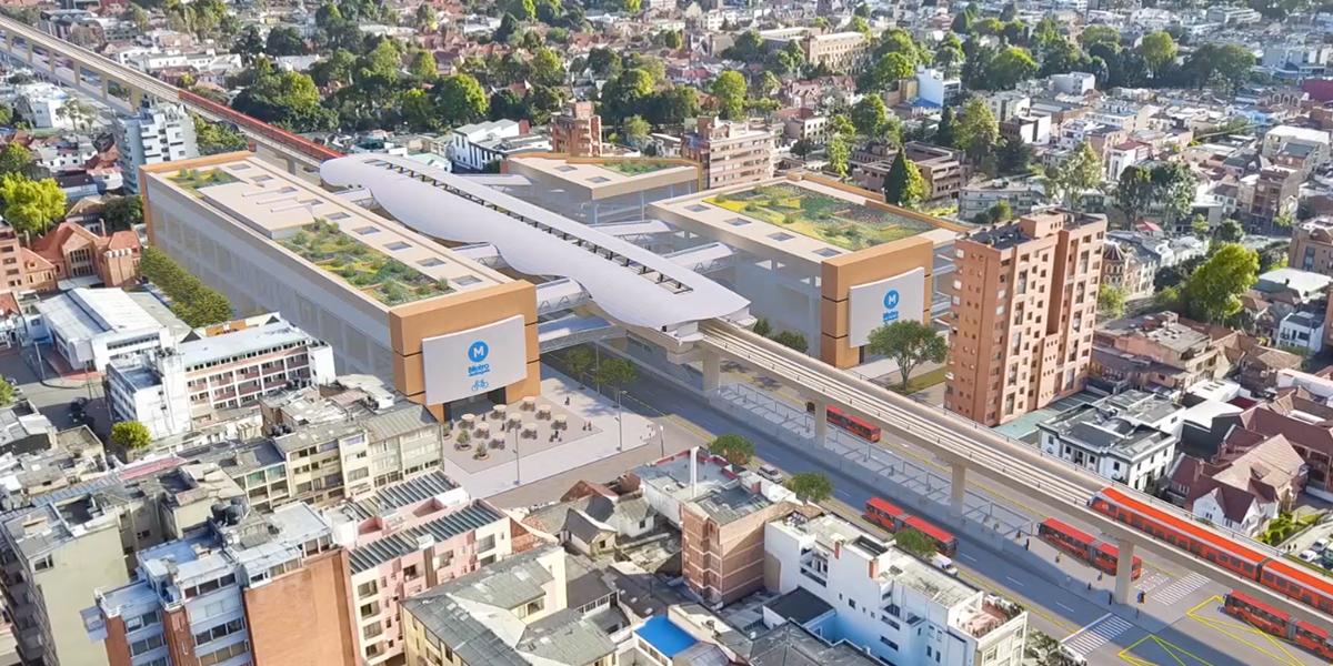Inician pruebas de carga en nueve puntos de la primera línea del Metro de Bogotá