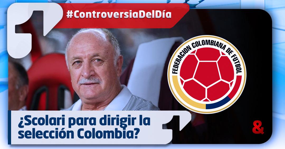 ¿Scolari al frente de la selección Colombia?