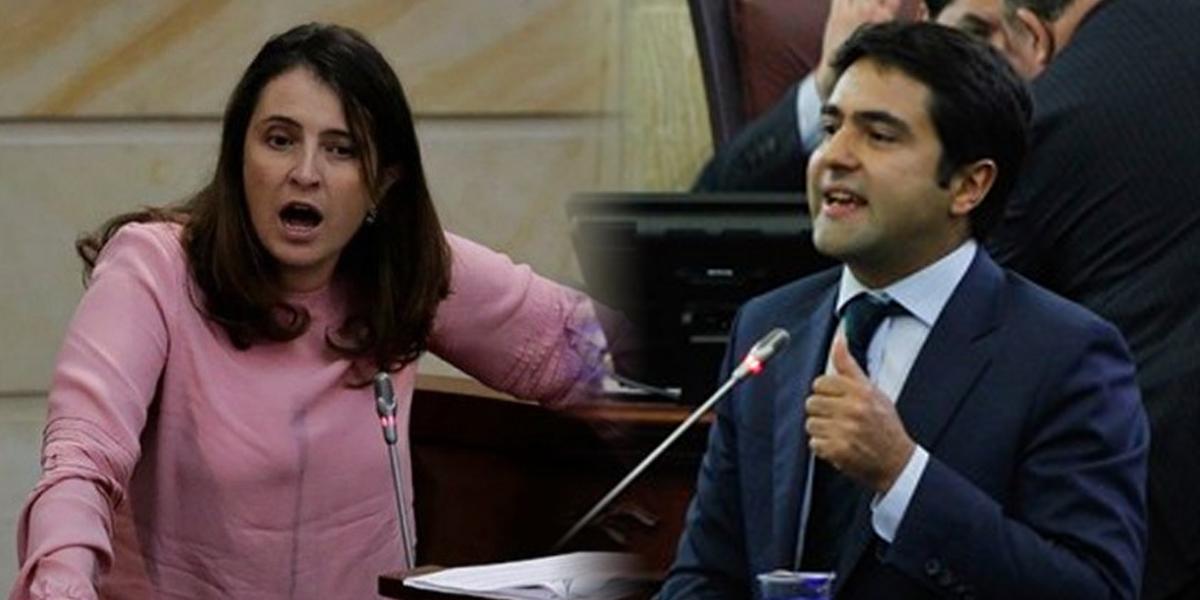 Paloma Valencia no renuncia y anuncia apoyo a Samuel Hoyos quien sí lo hará para aspirar a la Alcaldía de Bogotá