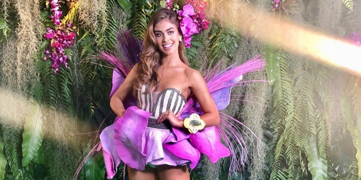 Miss Colombia no solo estuvo en Caso Cerrado, también apareció en 'Sin senos sí hay paraíso'