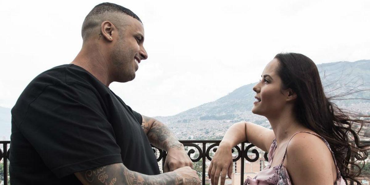 La experiencia de Ana Lucía Domínguez al trabajar con Nicky Jam