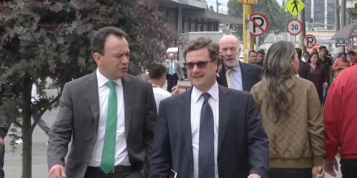 Juez deja en libertad a Luis Fernando Andrade por caso Odebrecht