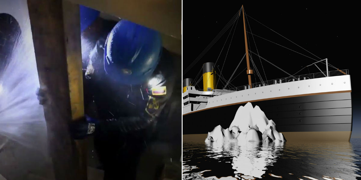 armada nacional expedicion antartida simulacro de inundacion titanic