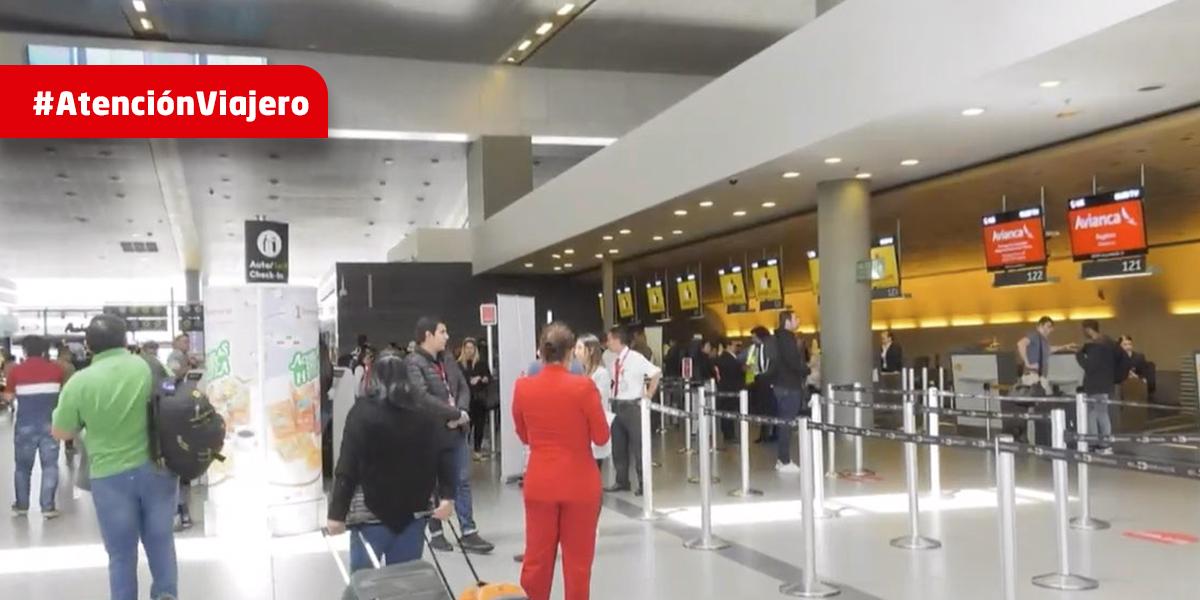 3,5 millones de pasajeros se movilizarán por aeropuertos del país