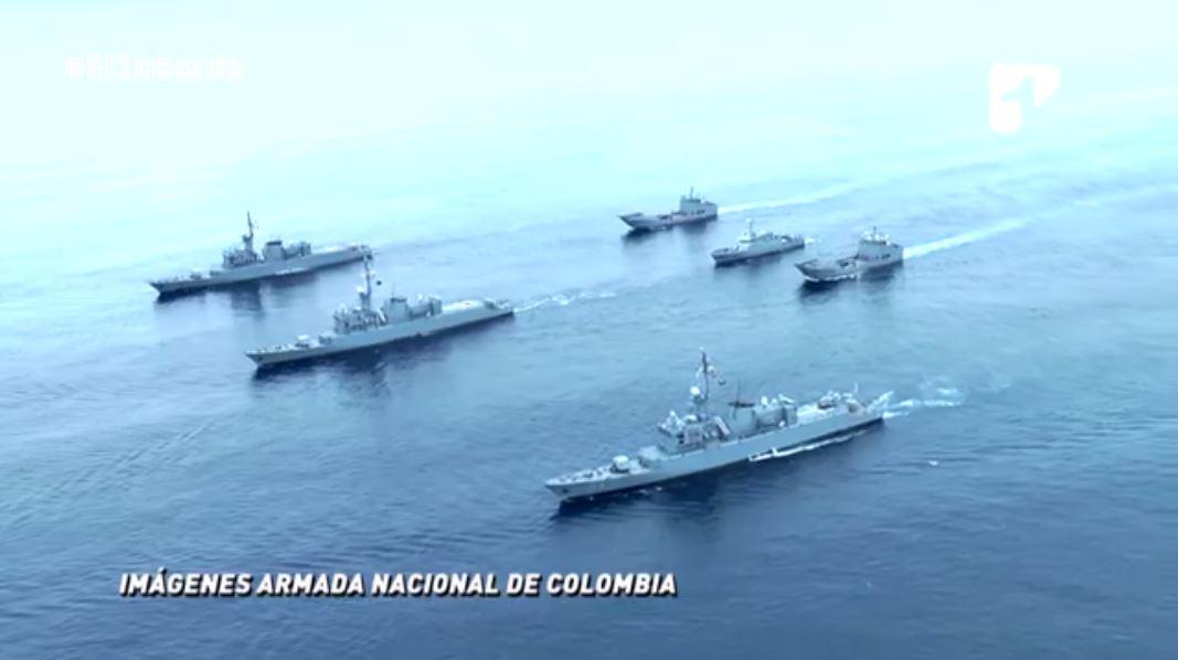 expedicion a la natartida buque arc 20 d ejulio almirante campos