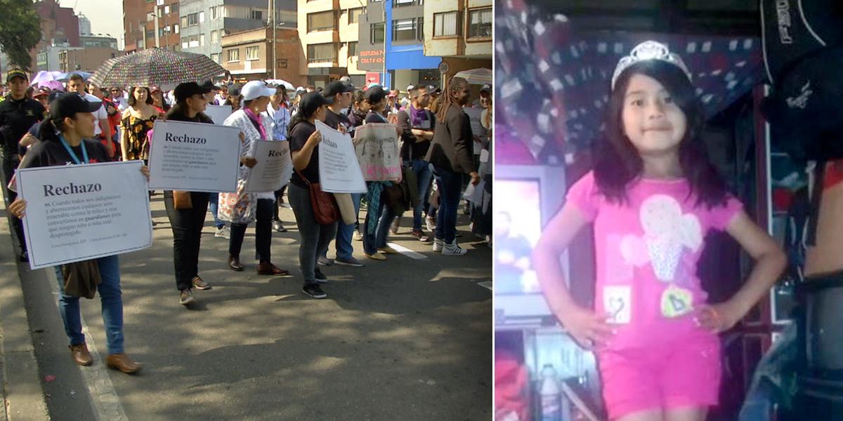 Marcha contra maltrato a las mujeres, tras dos años del feminicidio de Yuliana Samboní