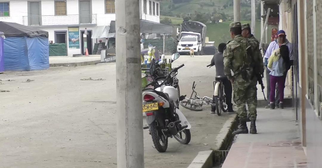 Autoridades preocupadas por aparición de un grupo armado en Ipiales