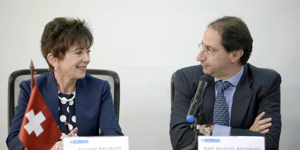 Cooperación Suiza apoya con 1,8 millones de dólares proyectos en Colombia