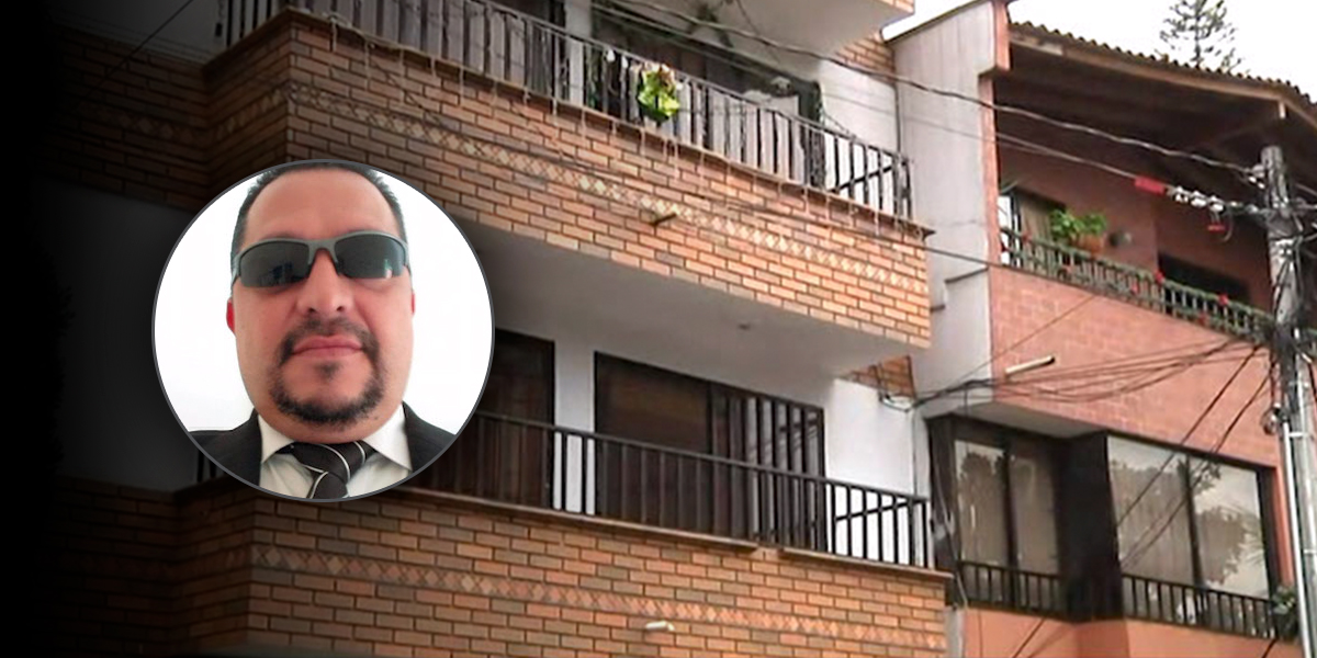 Hallan muerto a reconocido abogado al interior de una vivienda en Envigado
