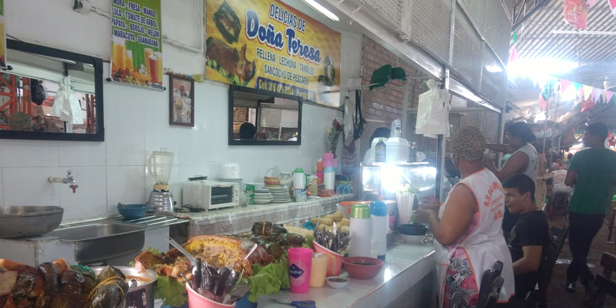 Variada gastronomía en Galería Alameda ad portas de la Feria de Cali