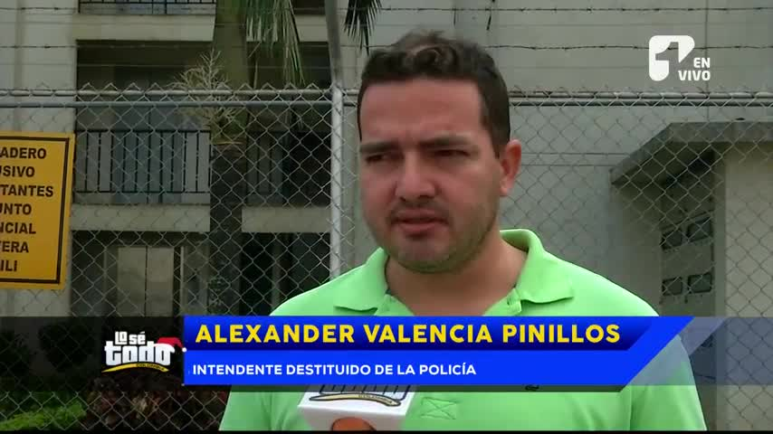 Intendente de la Policía denuncia que fue destituido por sufrir de epilepsia