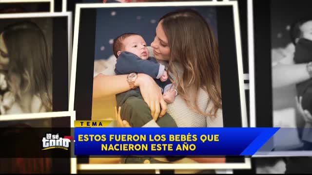 Estas son las famosas colombianas que fueron mamás este 2018