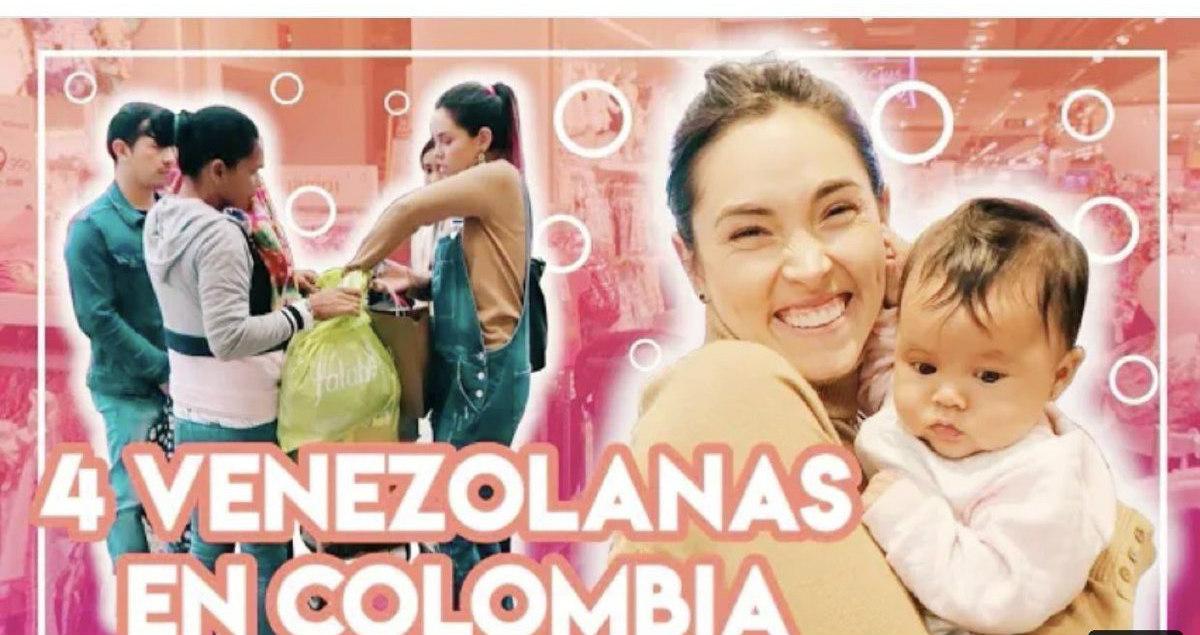 Polémica por video de youtuber en donde le da «un día feliz» a una familia venezolana