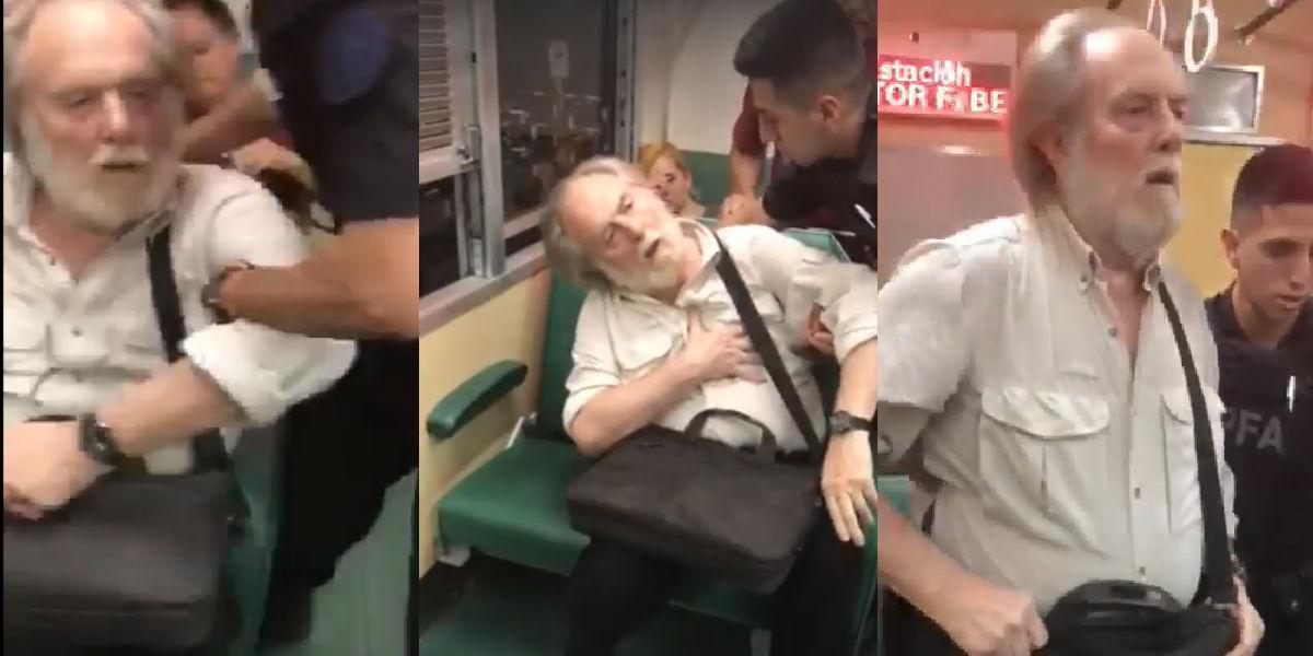 Anciano finge ataque al corazón cuando fue descubierto tomándole fotos a una joven
