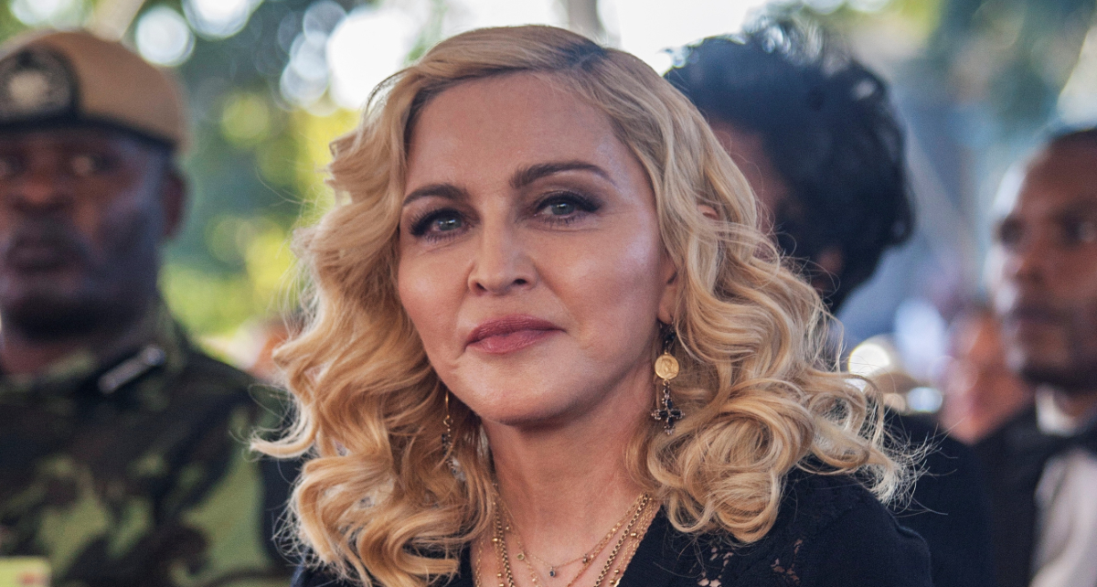 Madonna tuvo un radical cambio de look y quedó irreconocible
