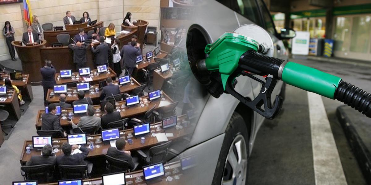 Congreso deberá establecer pautas para fijar sobretasa a la gasolina