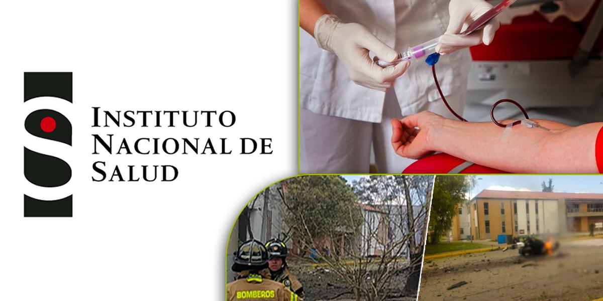 Instituto Nacional de Salud informa que no necesitan más donaciones de sangre tras atentado