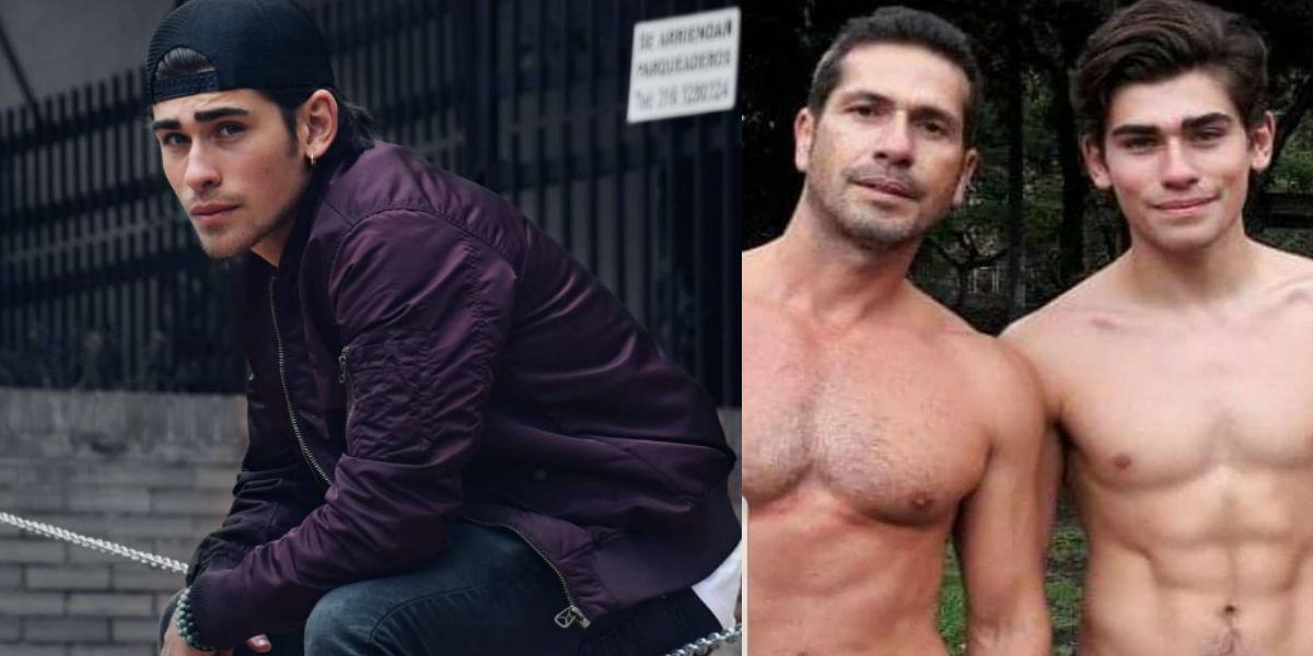 Las fotos más 'hot' del hijo de Gregorio Pernía