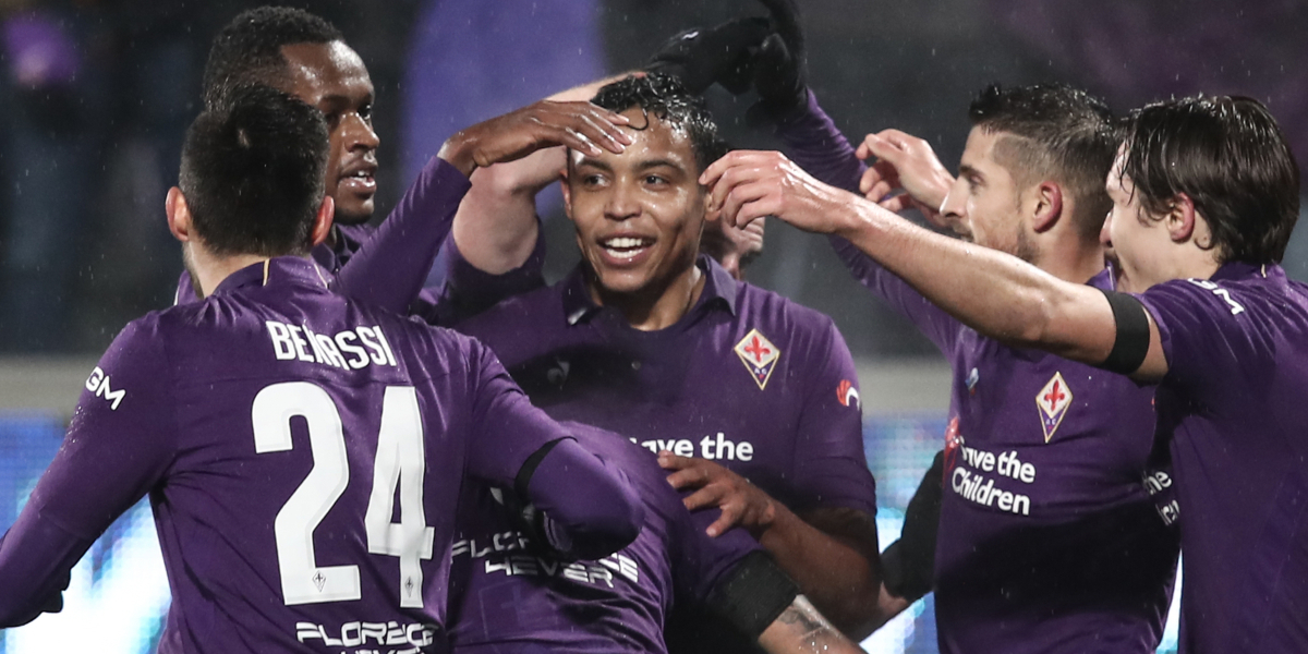 Muriel marcó en la goleada de Fiorentina 7-1 ante la Roma