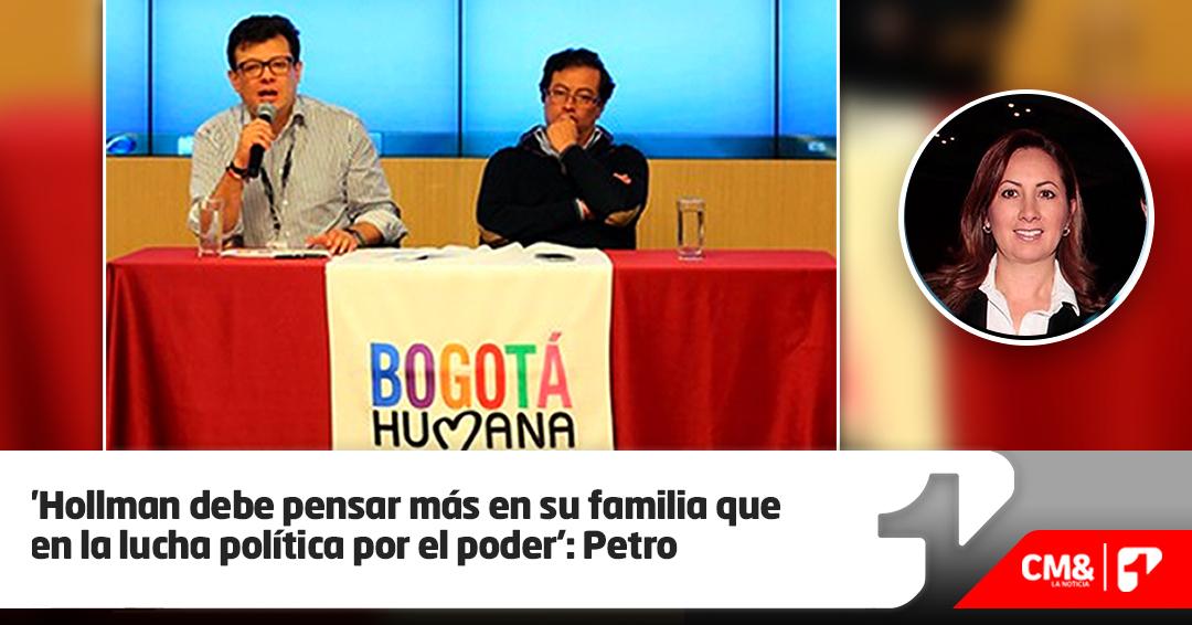 Petro le pide a Hollman Morris abandonar aspiración a la Alcaldía de Bogotá