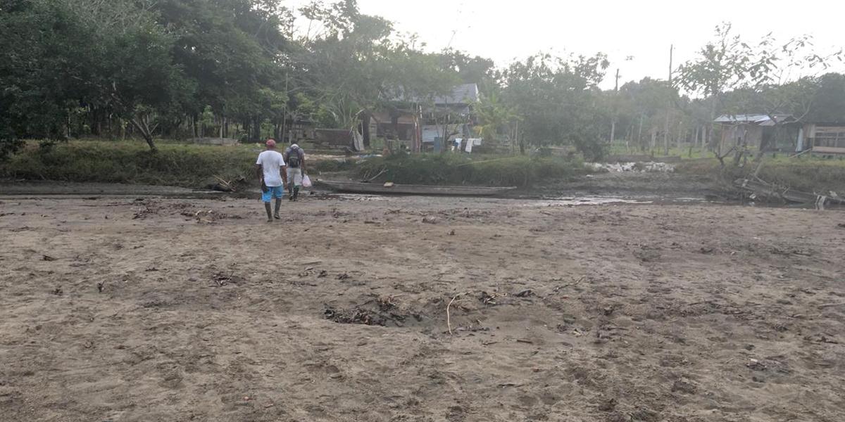 Nueve comunidades afectadas en Murindó por fuerte sequía