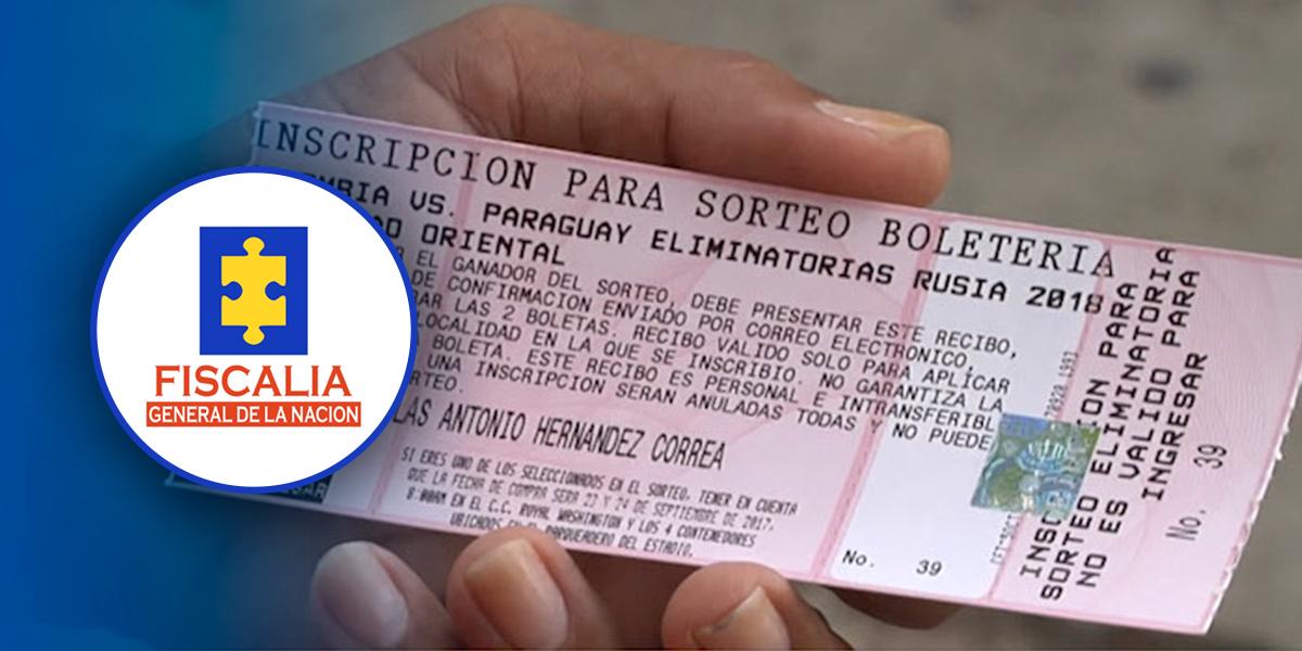 Imputarán cargos por reventa de boletas para partidos de selección Colombia en eliminatoria al mundial