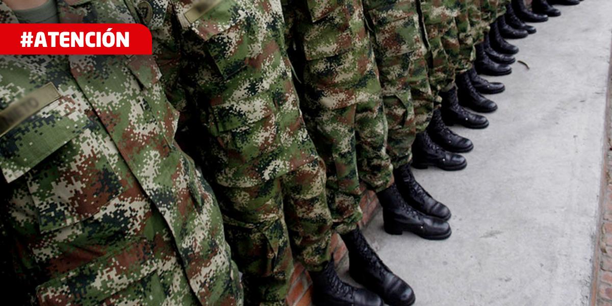 Acuartelamiento de primer grado para todas las Fuerzas Militares y de Policía