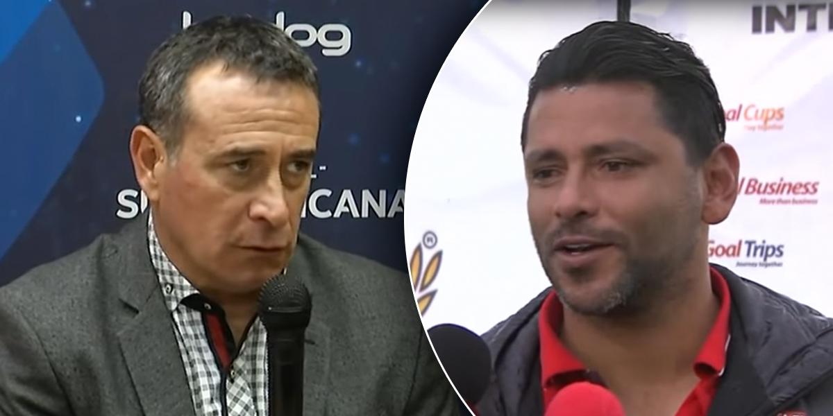 Gerardo Bedoya será asistente técnico del uruguayo Sanguinetti en Santa Fe