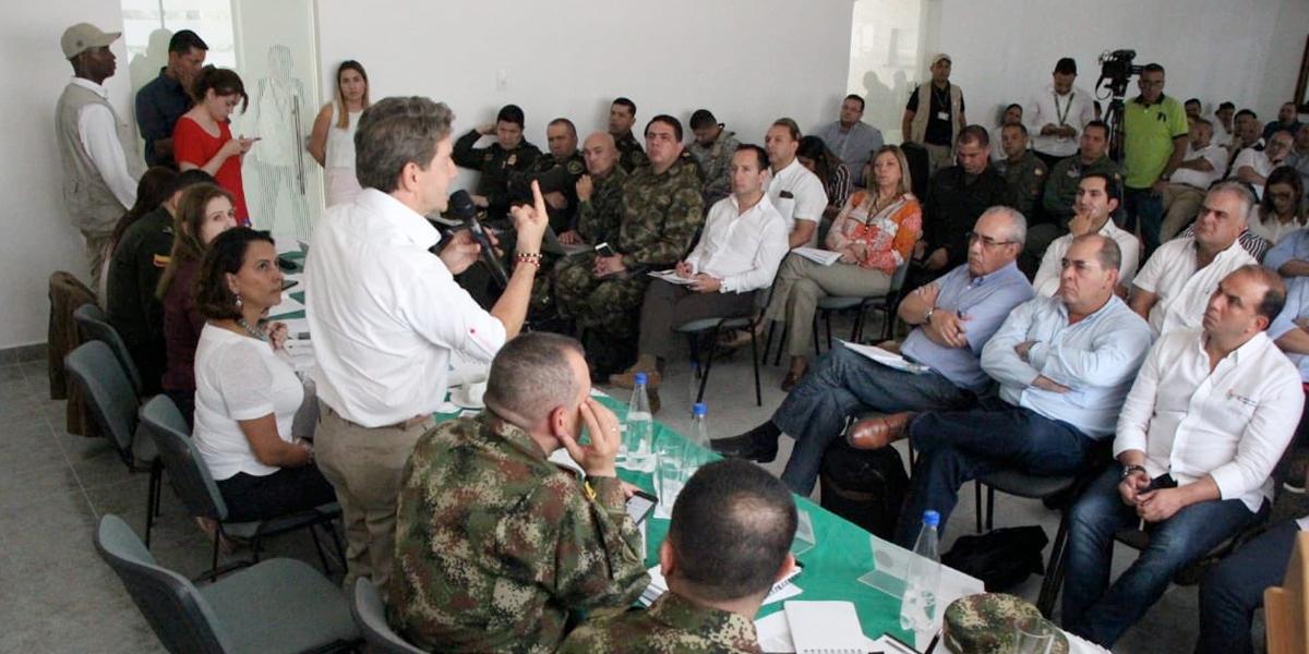 4000 uniformados custodiarán el Bajo Cauca y sur de Córdoba para recuperar orden público