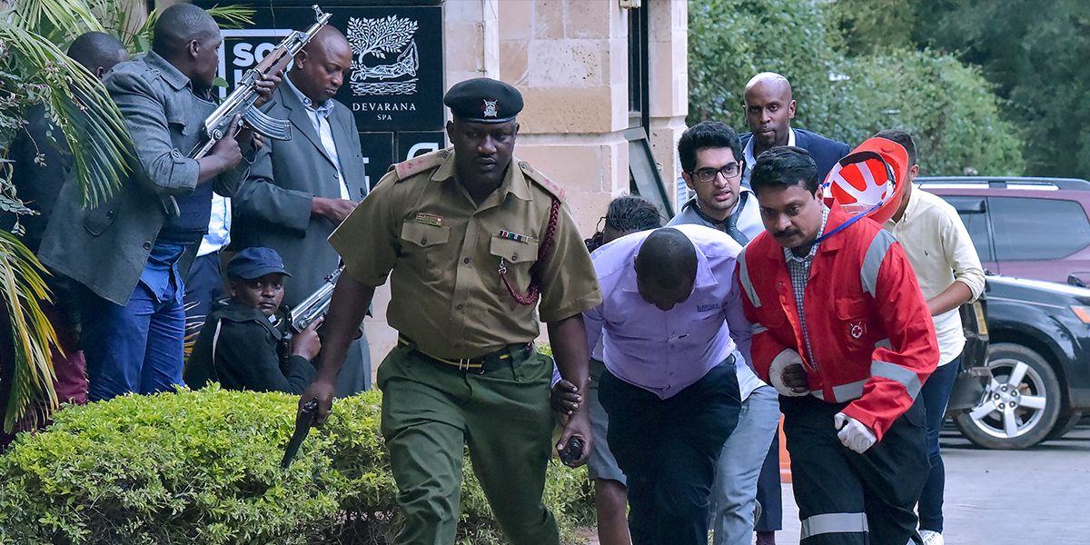 Aumenta a 21 la cifra de muertos tras ataque en hotel de Nairobi, Kenia