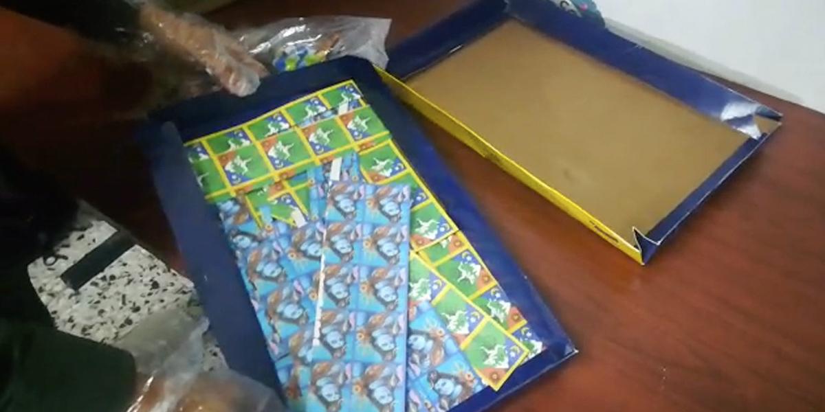 Incautan en El Dorado, cargamento de LSD que iba para fiesta electrónica en Chile