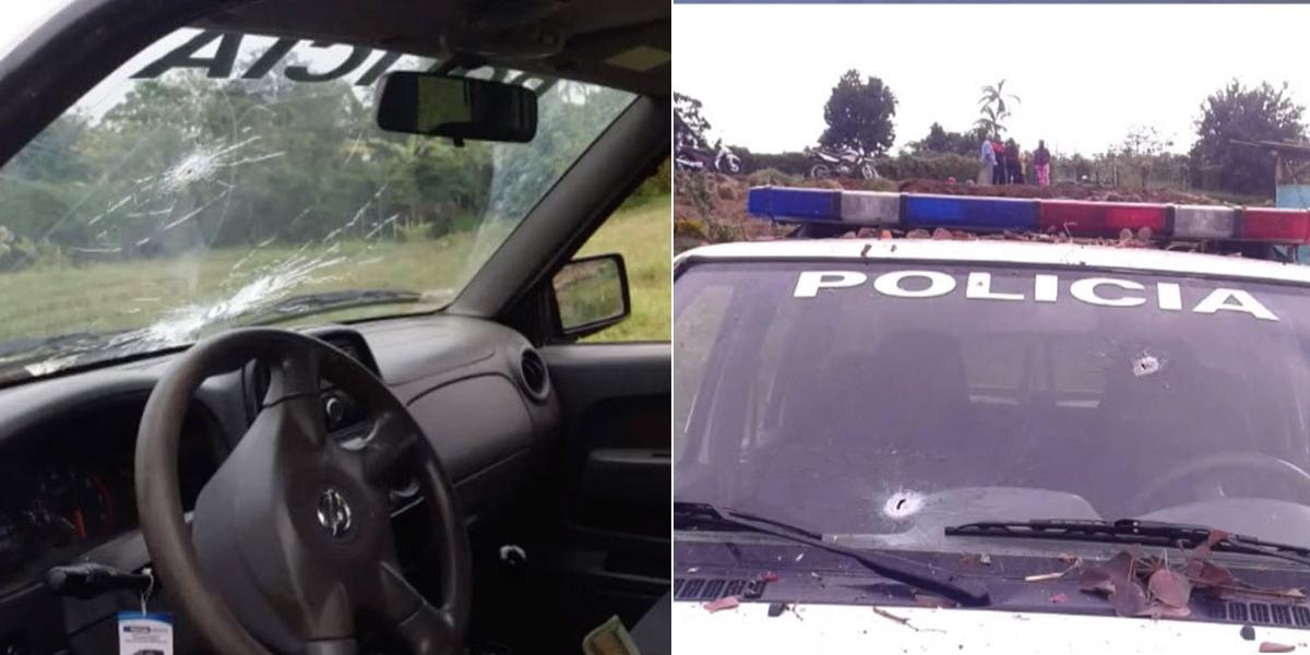Un policía herido por ataque a patrulla en el Cauca