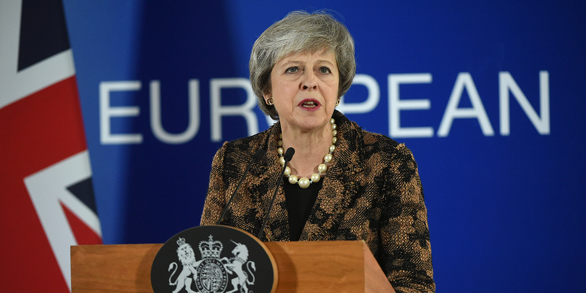 May pide apoyo a su pacto para evitar que los diputados frustren el Brexit