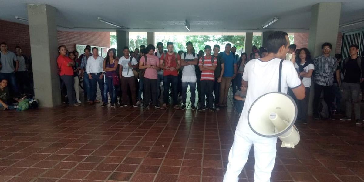 Continúa el paro de estudiantes en la Universidad del Valle
