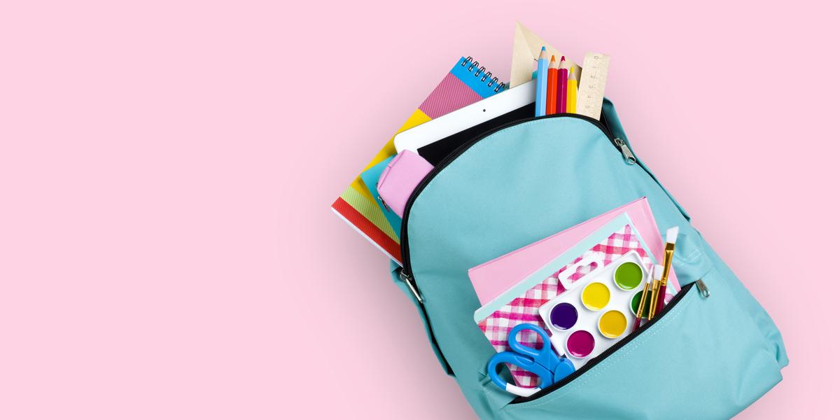 Lo que debes hacer sobre los útiles escolares