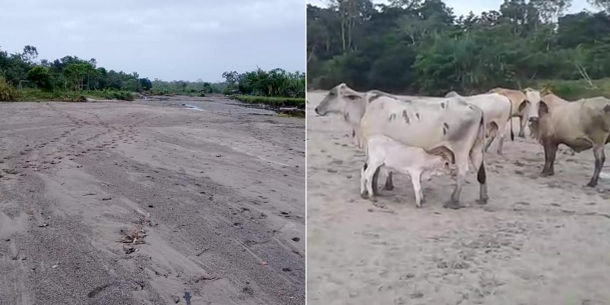 Decretan calamidad pública por sequía en río Murindó